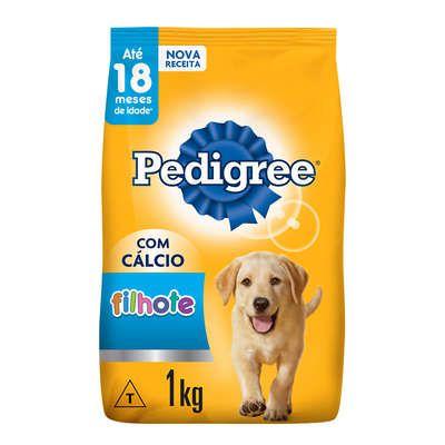 Ração Seca Pedigree para Cães Filhotes Raças Médias e Grandes