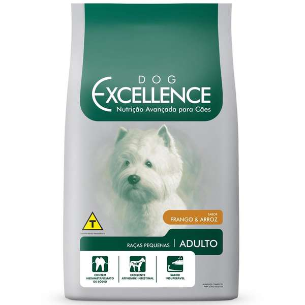 Ração Selecta Dog Excellence Cães Adultos Raças Pequenas Frango com Arroz