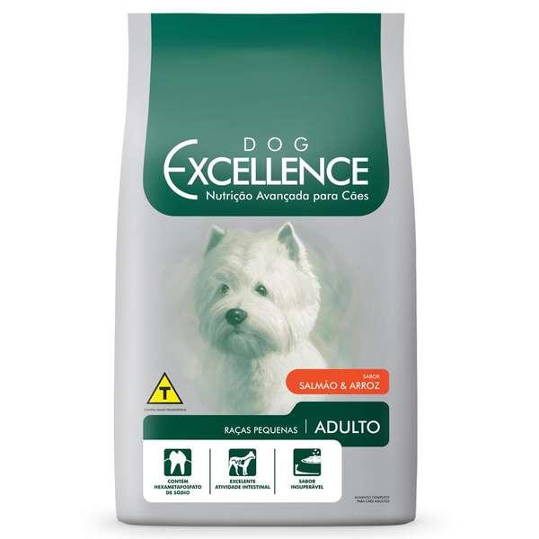 Ração Selecta Dog Excellence Cães Adultos Raças Pequenas Salmão e Arroz