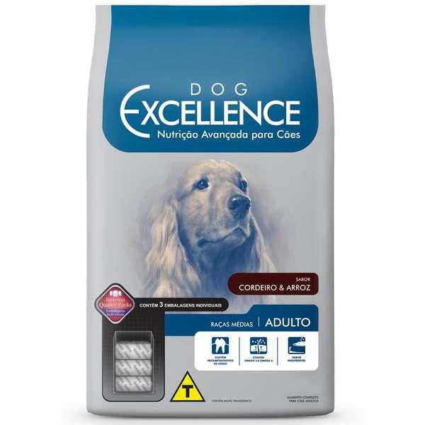 Ração Selecta Dog Excellence Cães AdultosRaças Médias Cordeiro e Arroz