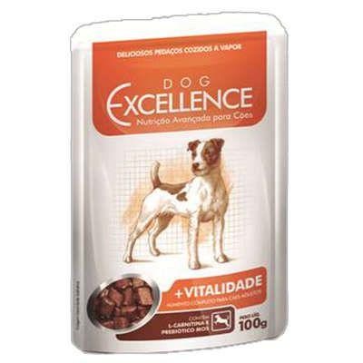 Ração Selecta Dog Excellence Sachê +Vitalidade - 100 g