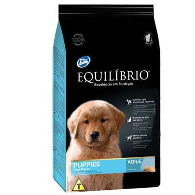Ração Total Equilíbrio Puppies Agile para Cães Filhotes de Raças Grandes - 15 Kg