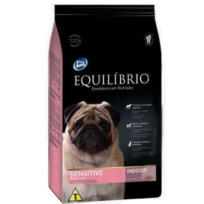 Ração Total Equilíbrio Sensitive Indoor para Cães Sensíveis Adultos de Raças Pequenas - 7,5 kg