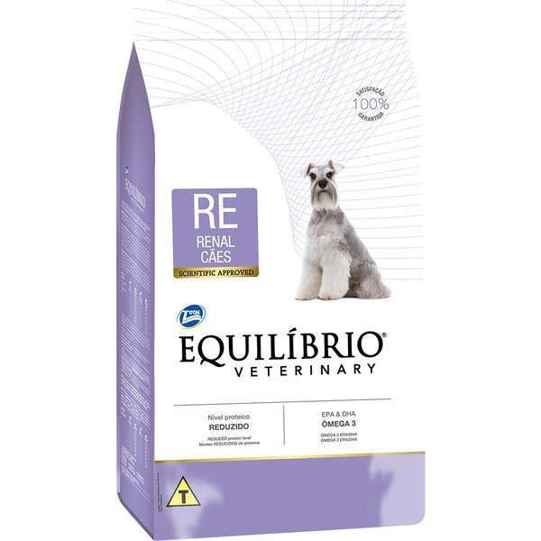 Ração Total Equilíbrio Veterinary Renal para Cães com Problema Renal
