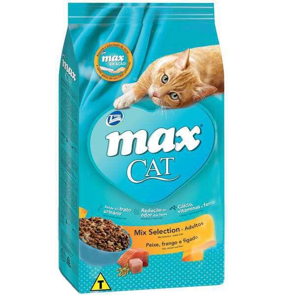 Ração Total Max Cat Mix Selection para Gatos Adultos