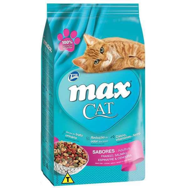 Ração Total Max Cat Sabores para Gatos