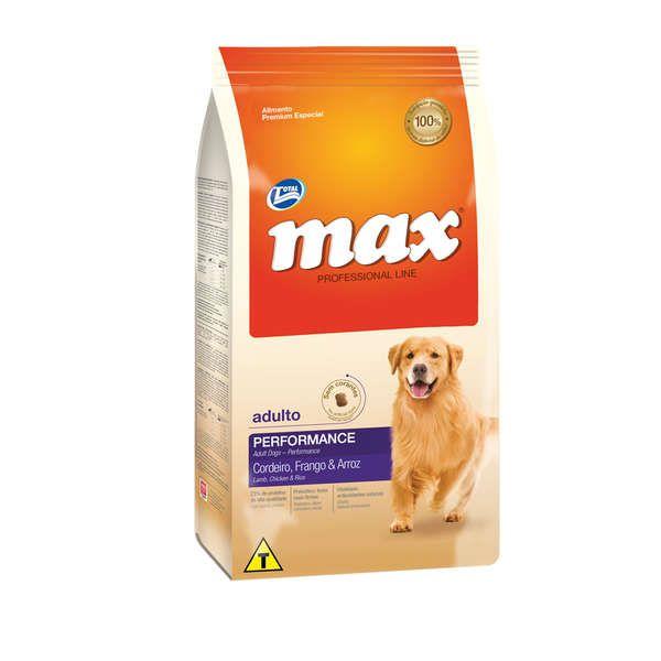 Ração Total Max Cordeiro Frango e Arroz para Cães Adultos