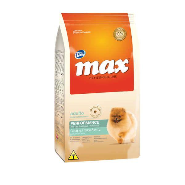 Ração Total Max Cordeiro Frango e Arroz para Cães Adultos de Raças Pequenas