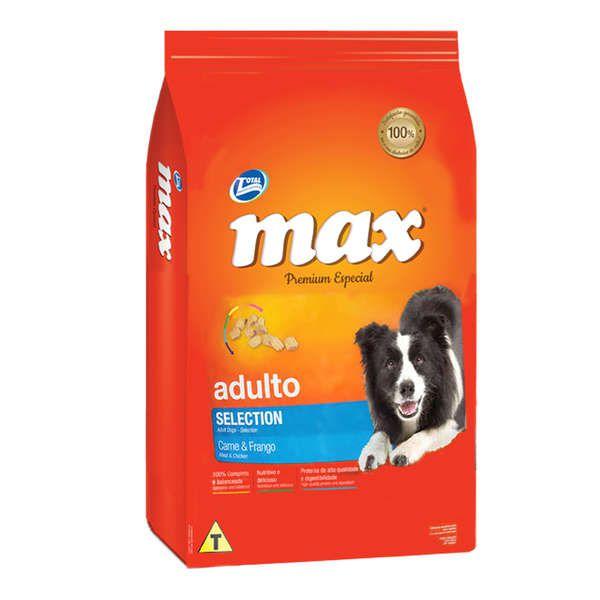 Ração Total Max Selection para Cães Adultos