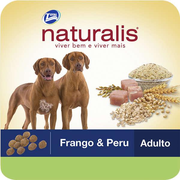 Ração Total Naturalis Frango e Peru para Cães Adultos