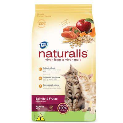 Ração Total Naturalis Salmão e Frutas para Gatos Adultos