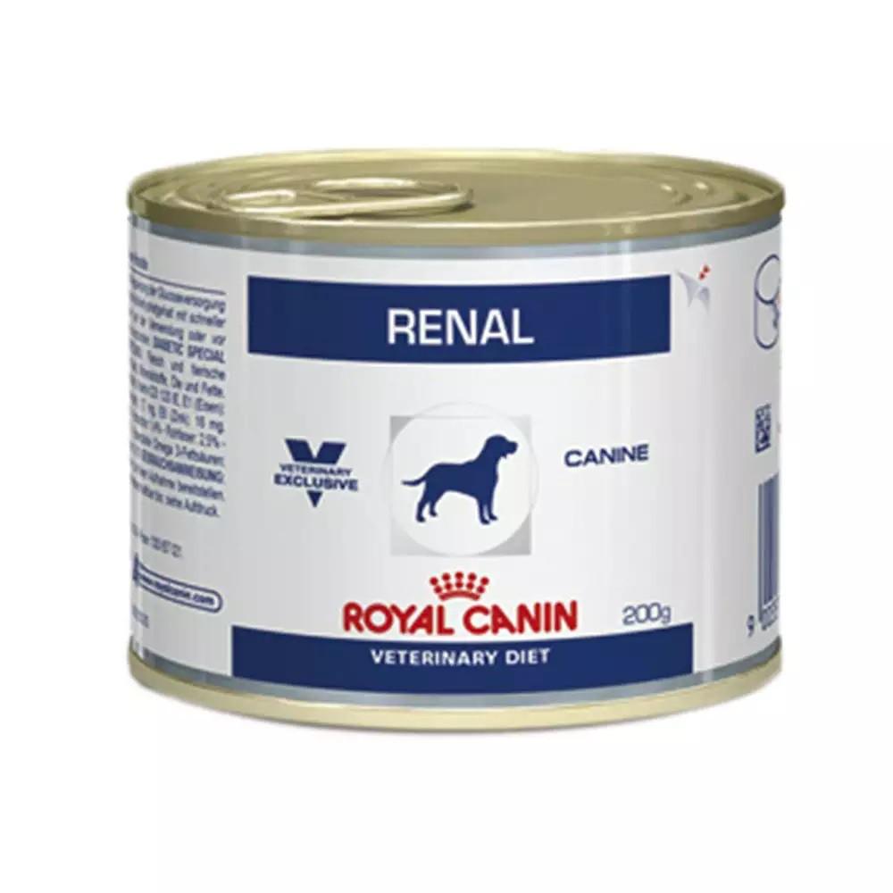 Ração Úmida Royal Canin Lata Canine Veterinary Diet Renal Wet para Cães com Doenças Renais