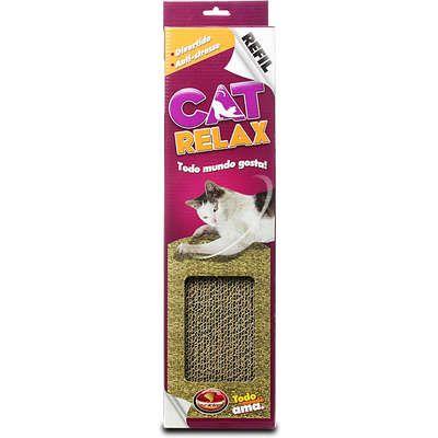 Refil Furacão Pet Papelão para Cat Relax