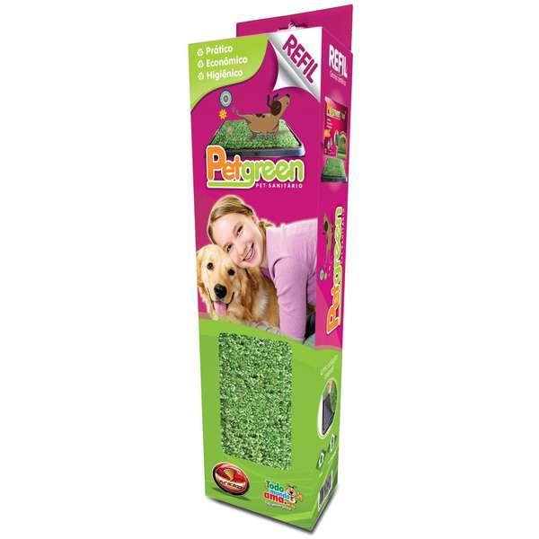 Refil Tapete Higiênico Pet Green Furacão Pet