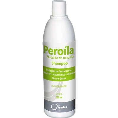 Shampoo Dermatológico Syntec Peroíla para Cães e Gatos 500 ml
