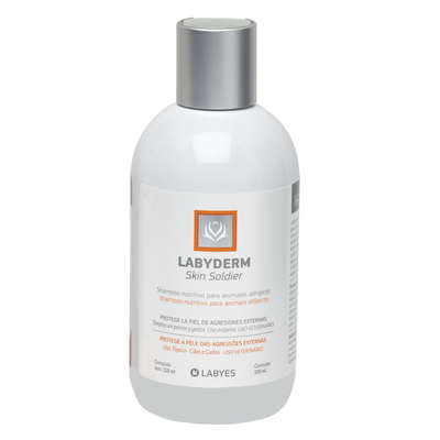 Shampoo Labyes Labyderm Skin Soldier para Cães e Gatos