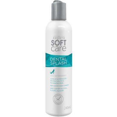 Solução Oral Pet Society Soft Care Dental Splash 240 ml