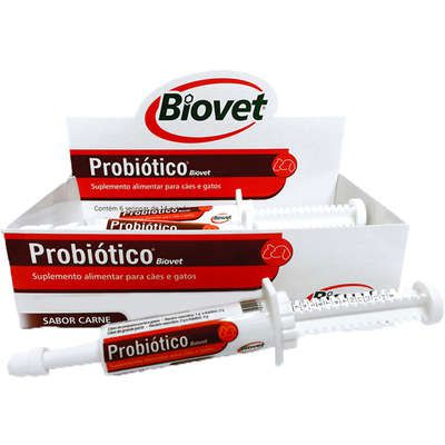 Suplemento Alimentar Probiótico Biovet 14 g