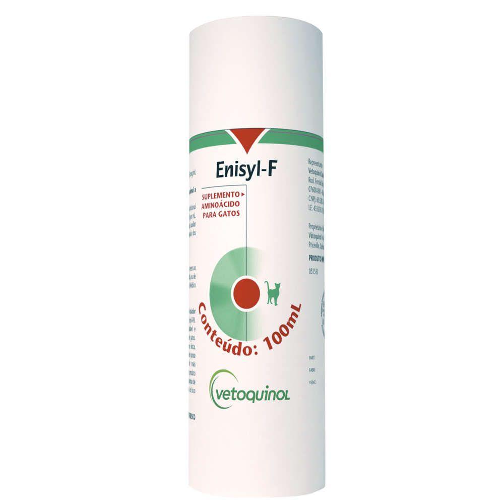 Suplemento Aminoácido Vetoquinol Enisyl F para Gatos 100 ml