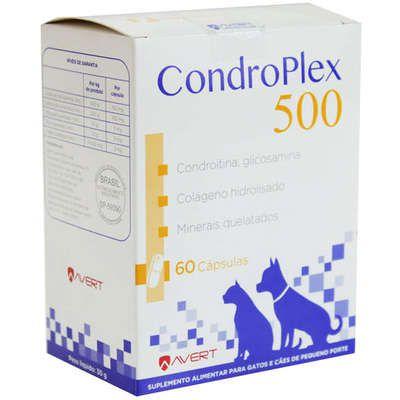 Suplemento Avert CondroPlex para Cães e Gatos 60 Cápsulas