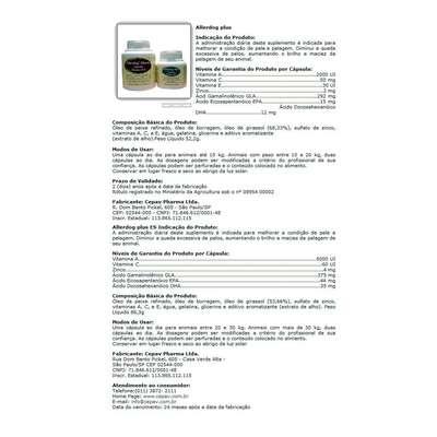 Suplemento Cepav Allerdog Plus - 60 Comprimidos