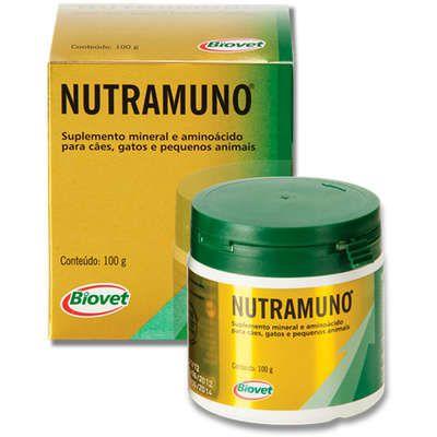 Suplemento Mineral Nutramuno Biovet 100 g