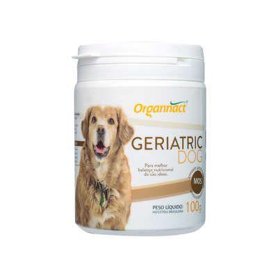 Suplemento Mineral Organnact Geriatric Frasco