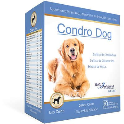 Suplemento Nutricional Botupharma Pet Condro Dog 30 Tabletes