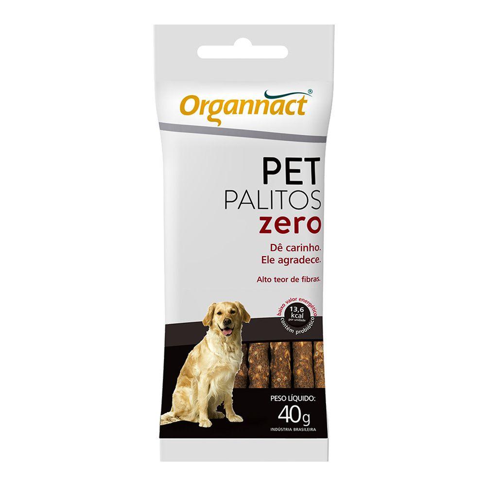 Suplemento Organnact Cães Pet Palitos Zero