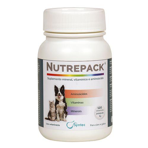 Suplemento Syntec Nutrepack para Cães 120 comprimidos