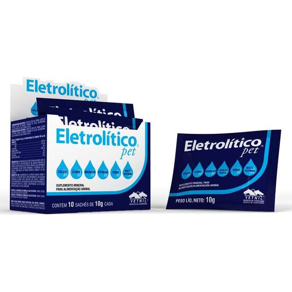 Suplemento Vetnil Eletrolitico Pet - 10 g