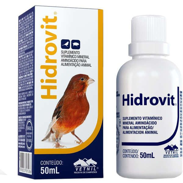 Suplemento Vetnil Hidrovit - 50 mL