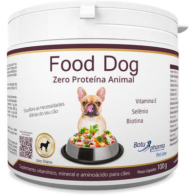 Suplemento Vitamínico Botupharma Pet Food Dog Zero Proteína Animal