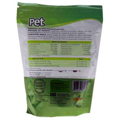 Suplemento Vitamínico Organnact Pet Probiótico