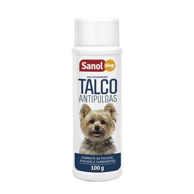 Talco Sanol Dog Antipulgas - 100 g