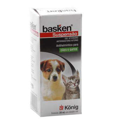 Vermífugo Konig Basken Suspensão 20 ml