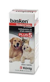 Vermífugo Konig Basken Suspensão Plus 5