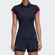 Camisa Polo Adidas 3-Stripes Club Feminina