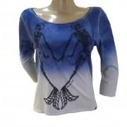 Camiseta Billabong T-Shirt Mermaid Manga Longa Feminina