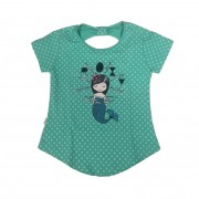 Camiseta Roxy Mermaid Infantil