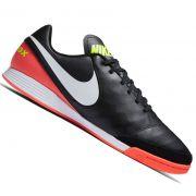 Chuteira Nike Tiempox Genio II Leather Futsal