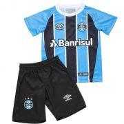 Kit Umbro Grêmio Oficial 2017 Infantil