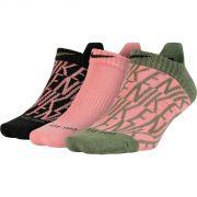 Kit Meia Nike Performance Cushion No-Show Feminina