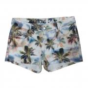 Shorts Jeans Billabong Walk Mini Coconut Feminino