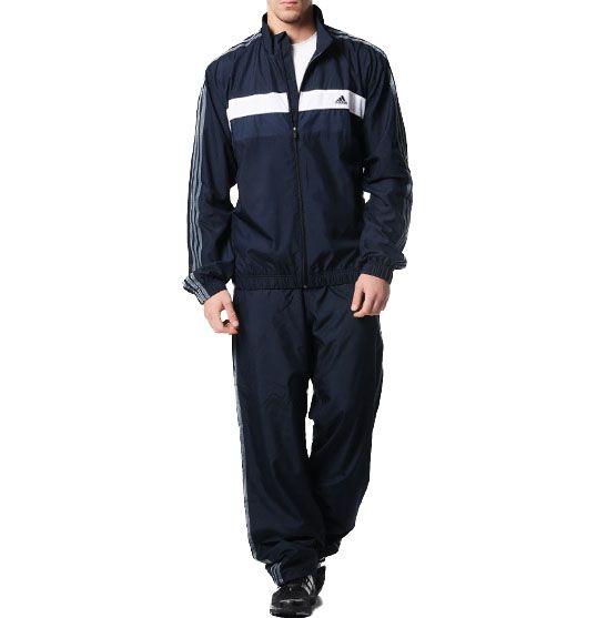 Agasalho Adidas 3S Woven Masculino