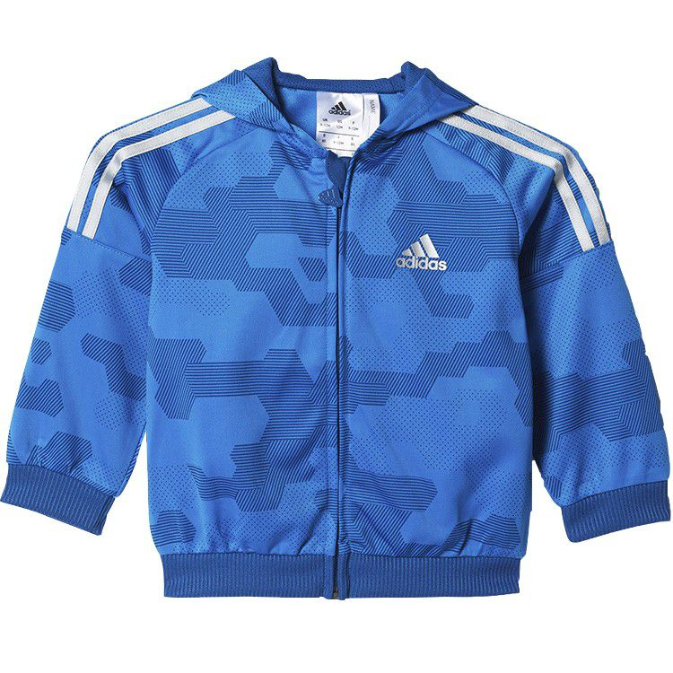 Agasalho Adidas I St Shiny FZHD Infantil