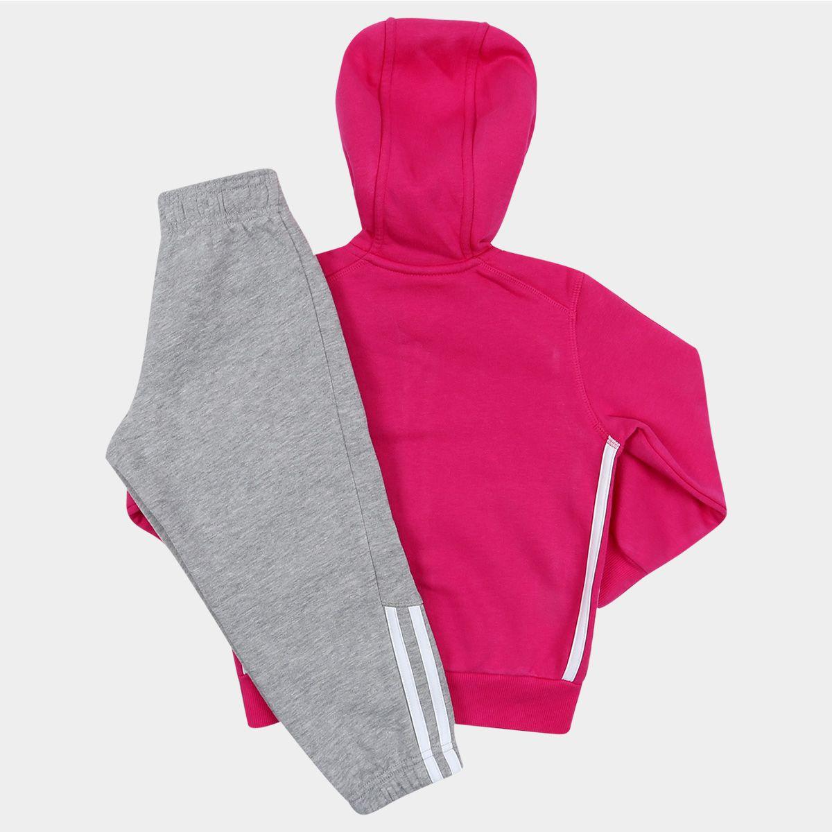 Agasalho Adidas Lk Ess Hojo TS Infantil