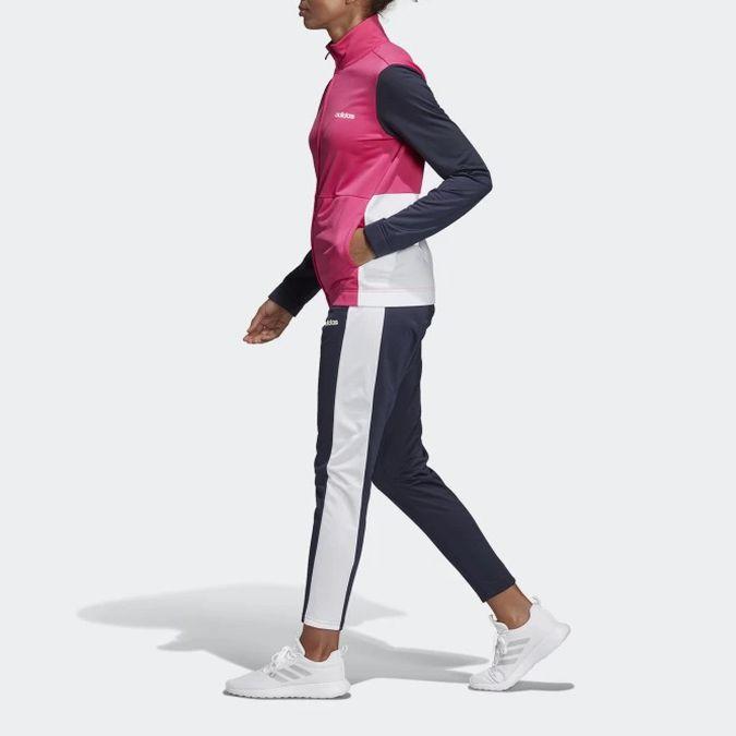 Agasalho Adidas Plain Tricot Feminino