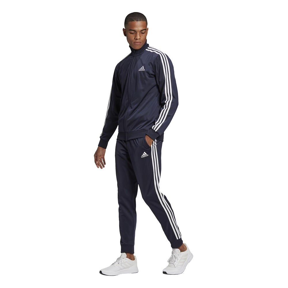 Agasalho Adidas Primegreen Essentials 3 Stripes