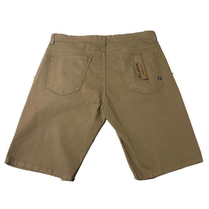 Bermuda Billabong Khaki Pocket